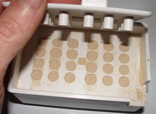 Fabrication des gélules
