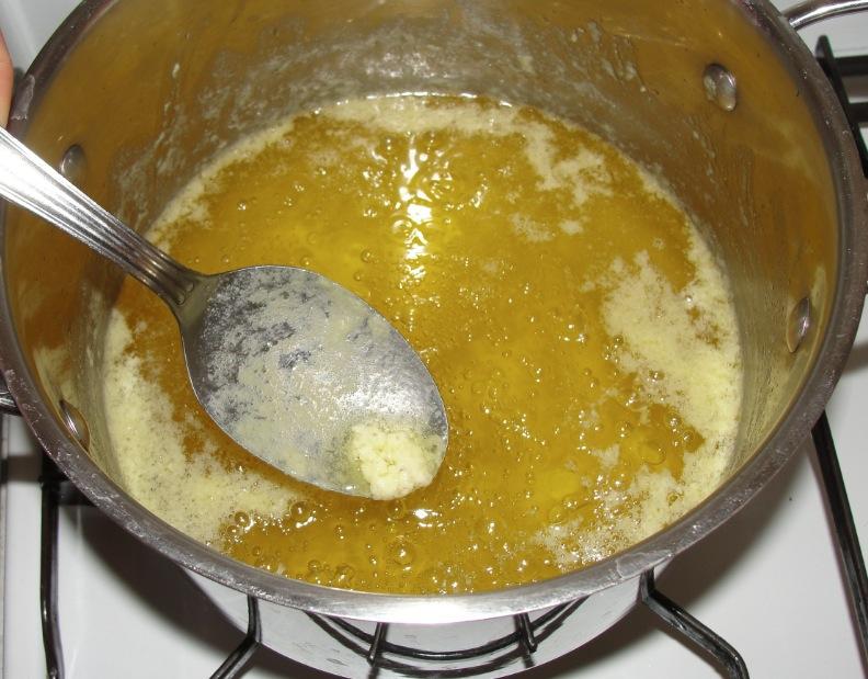 Ghee (beurre clarifié) : préparation