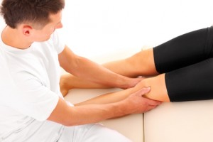 Insuffisance veineuse : massage