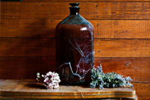 Produits à base de plantes : teintures