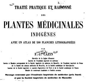 Cazin : traité pratique et raisonné des plantes médicinales indigènes